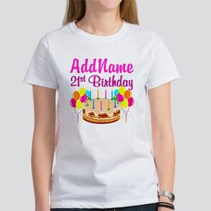 DAZZLING 21ST Women's T-Shirt