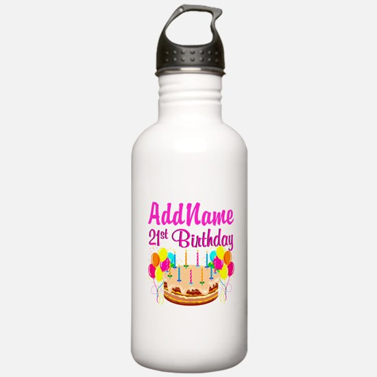 DAZZLING 21ST Water Bottle