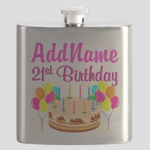 DAZZLING 21ST Flask