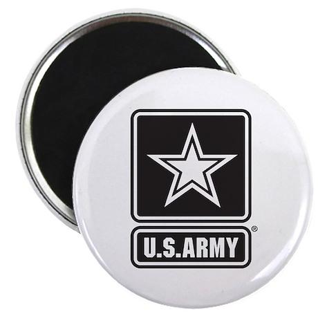 "U.S. Army Star Logo [b/w] 2.25"" Magnet (100 pack)"