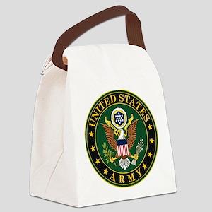 U.S. Army Symbol Canvas Lunch Bag