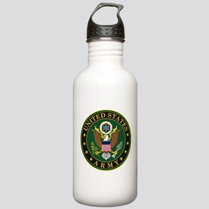 U.S. Army Symbol Stainless Water Bottle 1.0L