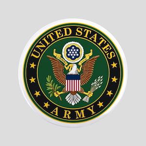 "U.S. Army Symbol 3.5"" Button"