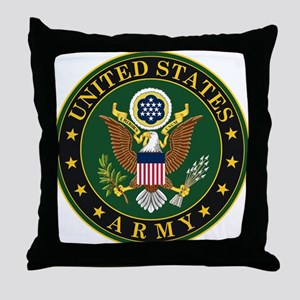 U.S. Army Symbol Throw Pillow