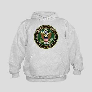 U.S. Army Symbol Kids Hoodie