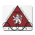 Aztec Highland Celtic Festival Logo Mousepad
