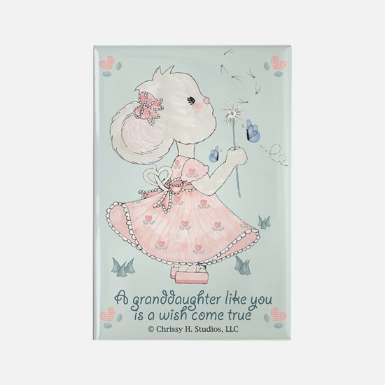 Granddaughter Wish Come True Rectangle Magnet