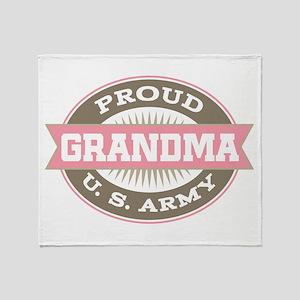 U. S. Army Grandma Throw Blanket