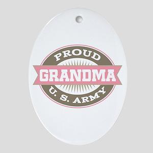 U. S. Army Grandma Ornament (Oval)