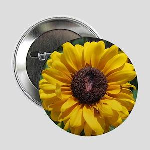 "Sunflower 2.25"" Button"