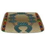 Native American Indian Print Bathmat