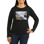 Creation of the Boxer Women's Long Sleeve Dark T-S