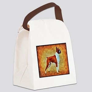 """Boxer"" Canvas Lunch Bag"