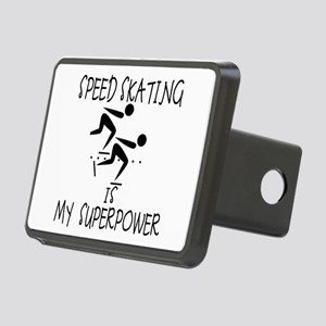 SPEEDSKATING is My Superpower Rectangular Hitch Co