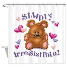 Simply Irresistible! Shower Curtain