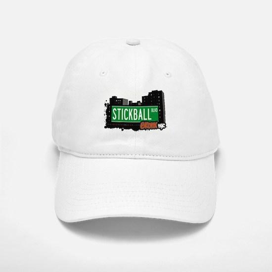 Stickball Blvd, Bronx, NYC Baseball Baseball Cap