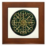 Nordic Guidance - Green Framed Tile