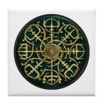 Nordic Guidance - Green Tile Coaster