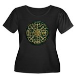 Nordic Guidance - Green Plus Size T-Shirt