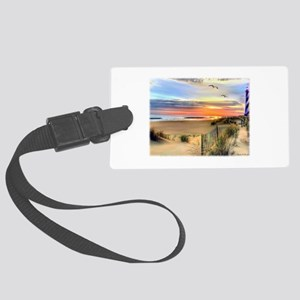 Cape Hatteras Lighthouse Large Luggage Tag
