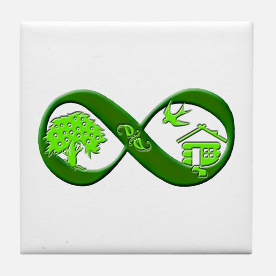 Permaculture Tile Coaster