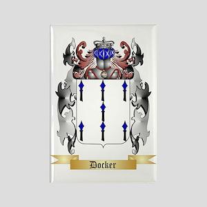Docker Rectangle Magnet