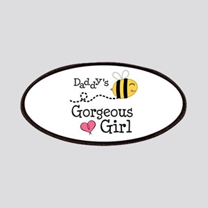 Bumble Bee Daddys Girl Patches