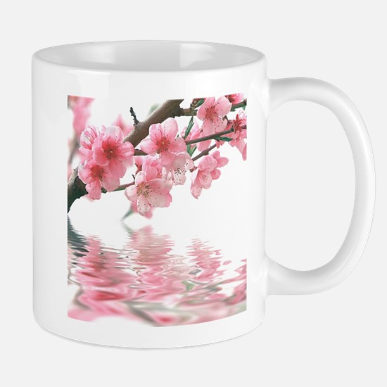 Flowers Water Reflection Mug