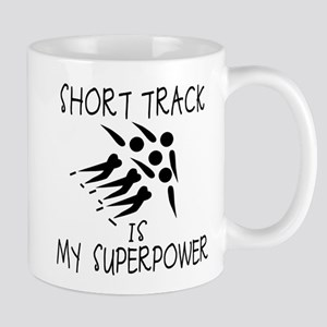 SHORT TRACK is My Superpower Mug