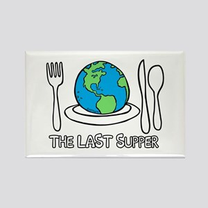 Last Supper Kids Plate (1) Rectangle Magnet