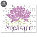 yoga girl Puzzle