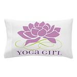 yoga girl Pillow Case