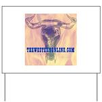 SteerSkull Yard Sign