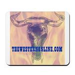 SteerSkull Mousepad