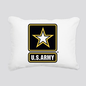 U.S. Army® Gold Star Logo Rectangular Canvas Pillo
