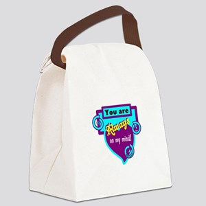 Always On My Mind-Willie Nelson Canvas Lunch Bag