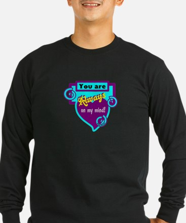 Always On My Mind-Willie Nelson Long Sleeve T-Shir