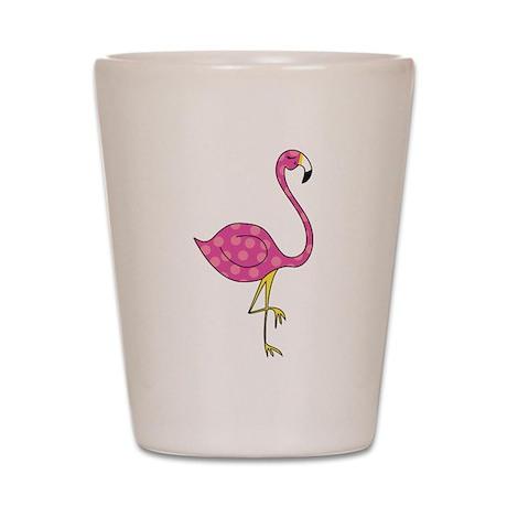 flamingo Shot Glass