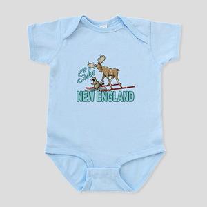 Ski New England Infant Bodysuit