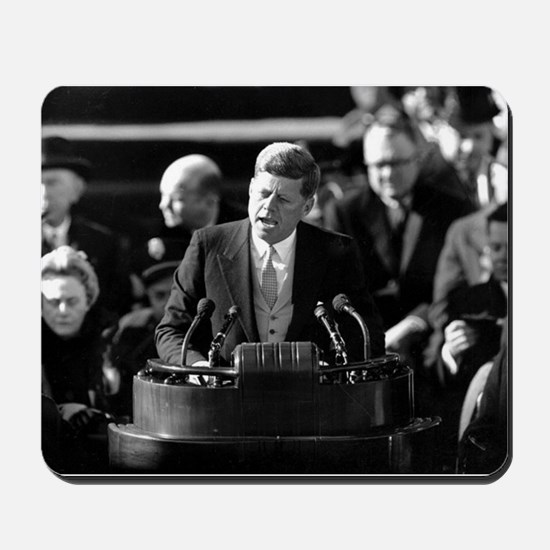 John F. Kennedy Mousepad