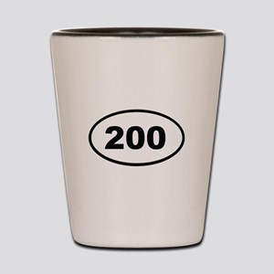 200 Shot Glass