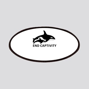 Save the Orcas - captivity kills Patches