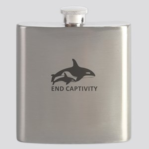 Save the Orcas - captivity kills Flask