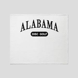 Alabama Disc Golf Throw Blanket