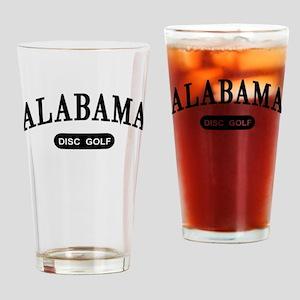 Alabama Disc Golf Drinking Glass