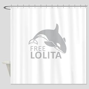 Free Lolita Shower Curtain