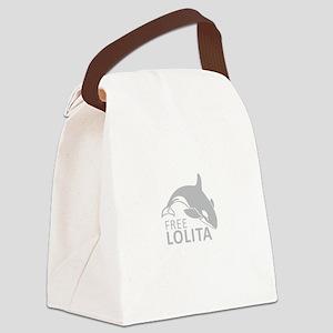 Free Lolita Canvas Lunch Bag