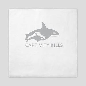 Captivity Kills Queen Duvet