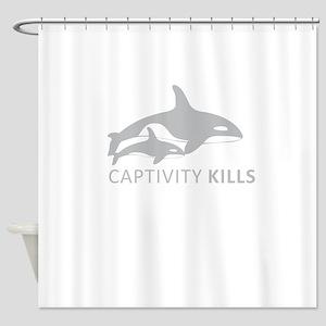 Captivity Kills Shower Curtain