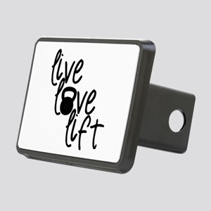 Live, Love, Lift Hitch Cover